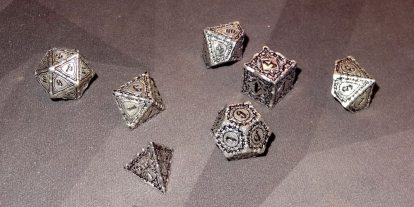 Reaping the Rewards: Q-workshop Pathfinder Dice