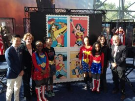 """Wonder Woman Celebrates 75 Years and """"Stamps"""" Out Injustice"""