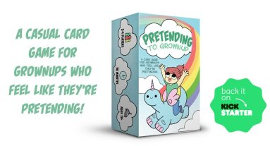 Kickstarter Tabletop Alert: 'Pretending to Grownup'