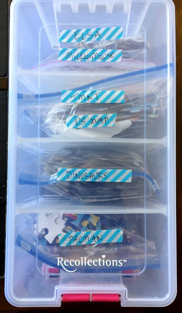 Puzzle Storage. Photo: Ariane Coffin.