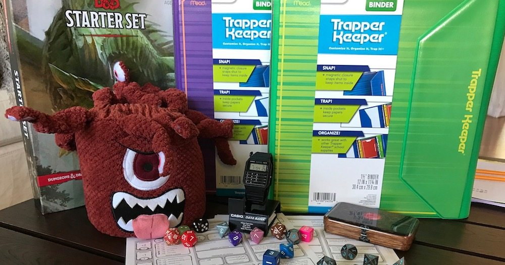 Need a Last Minute Costume? Get Your 'Stranger Things' on With Casio, Trapper Keeper, and SkullSplitter Dice
