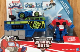 The Newest 'Transformers Rescue Bots' Giveaway