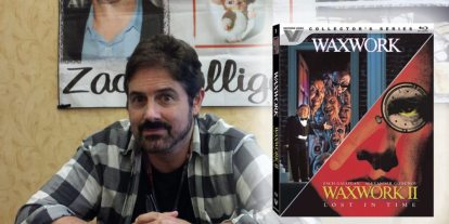 'Waxwork' Star Zach Galligan Discusses New Collector's Series Blu-ray Double Feature