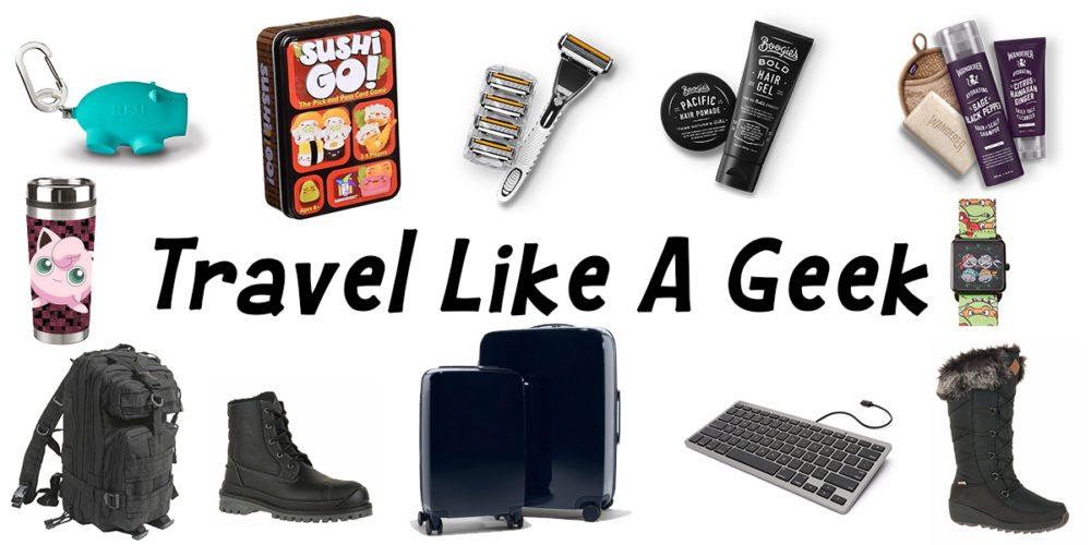 Travel like a geek!  Image: Dakster Sullivan