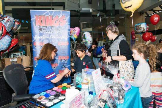 Kings Comics Kids Day