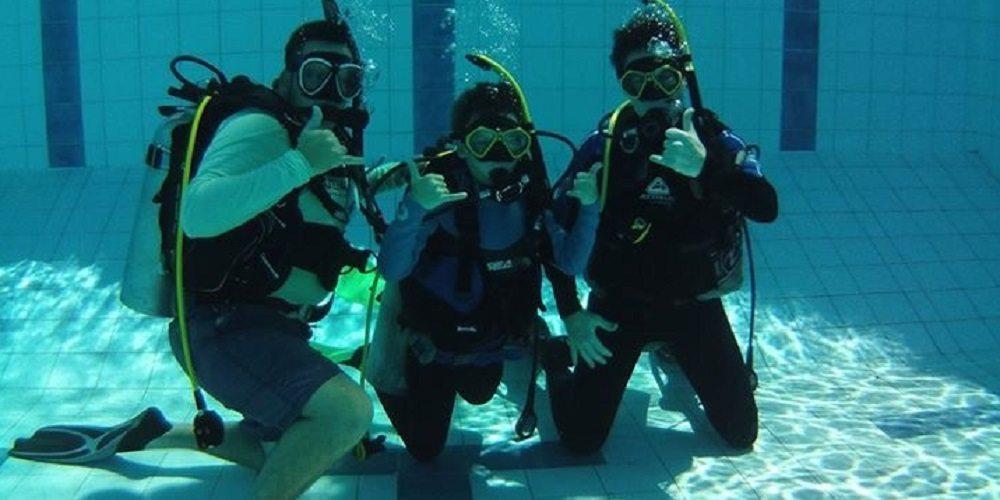 SDI Jnr Open Water Diver Course