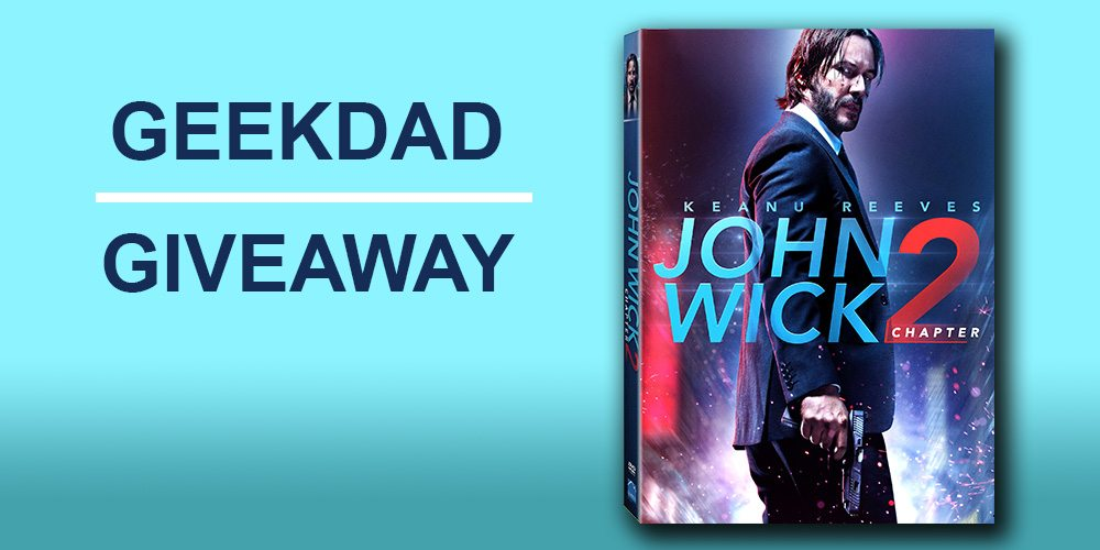 'John Wick: Chapter 2' prize pack giveaway