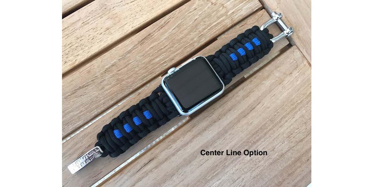 Survival Straps Apple Watch Band  Image: Survival Straps