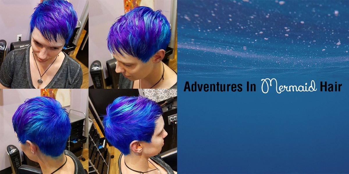 The start of my adventures in mermaid hair  Image: Dakster Sullivan