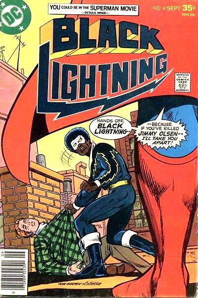 Black Lightning and Superman