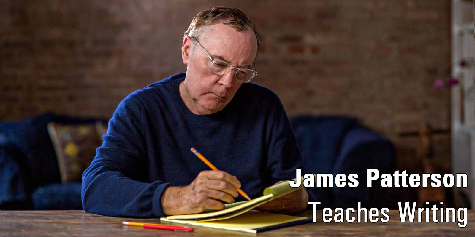 James Patterson Master Class  Image: Master Class