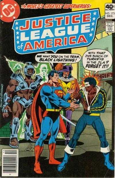 Black Lightning turns down the Justice League