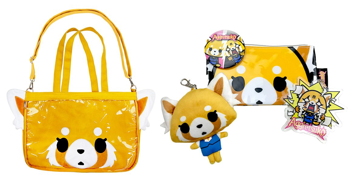 Aggretsuko bag is bigger than it looks.  Image: Sanrio