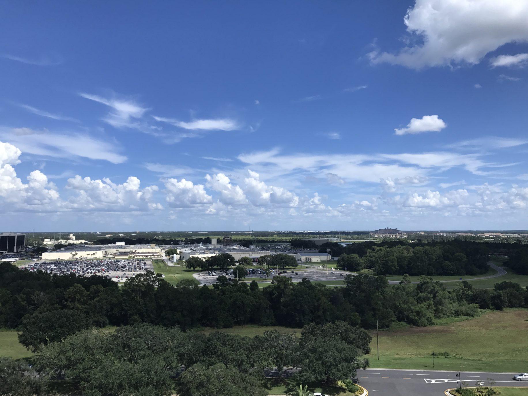 Nice views from the Orlando Eye  Image: Dakster Sullivan