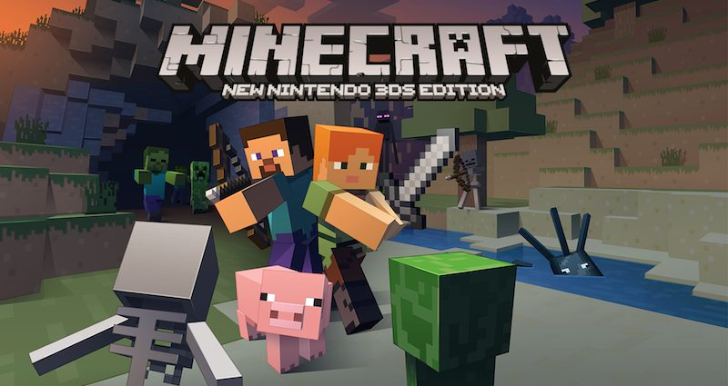 Minecraft Nintendo 3DS version