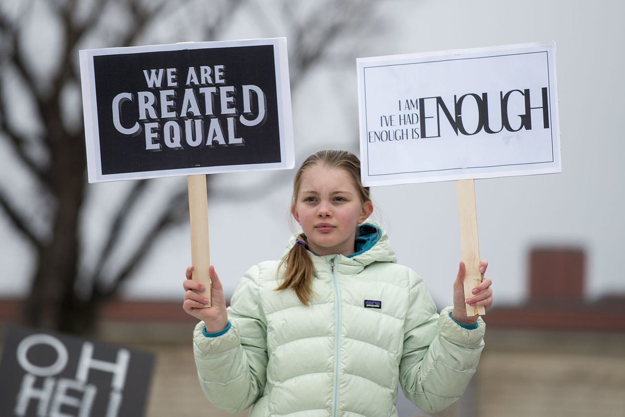 Women's March, January