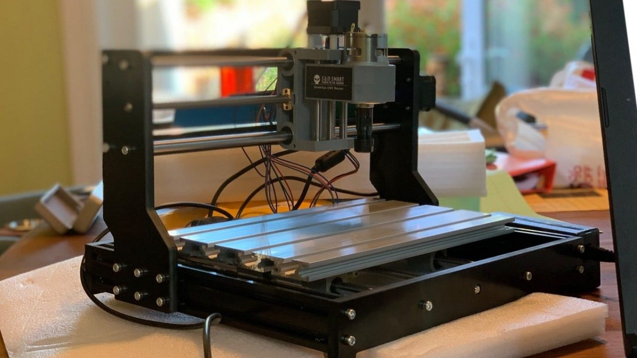Build Your Own Cnc With The Sainsmart