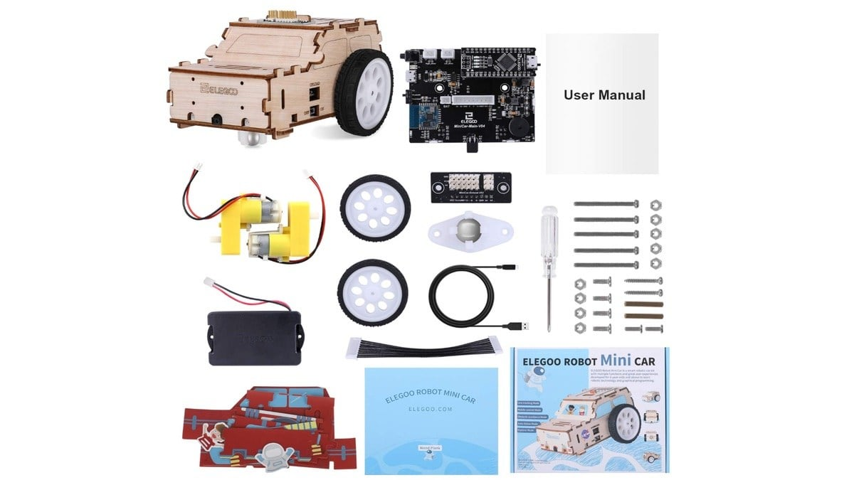 Geek Daily Deals 022520 Kit voiture robot