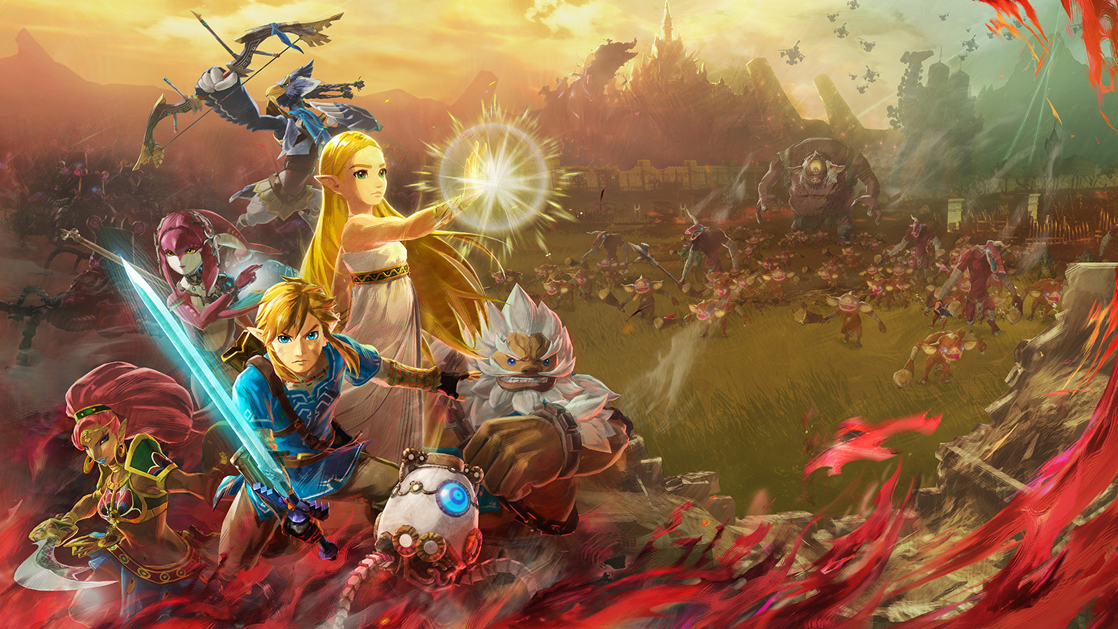 Stakes Are High In Hyrule Warriors Age Of Calamity Geekdad