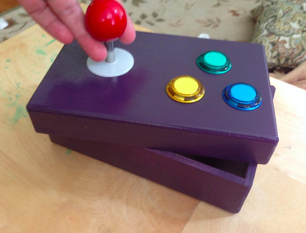 A great weekend project diy arcade controller geekdad sciox Image collections